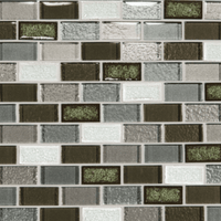 Daltile Crystal Shores Emerald Isle Brick Joint