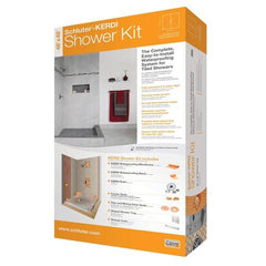 Schluter Kerdi Shower Kit - 48in x 48in - No Drain - FloorLife