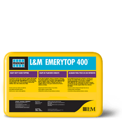 L&M™ EMERYTOP 400™ - FloorLife