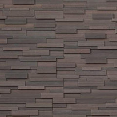 "Realstone Systems Collection Mocha Birch Honed Panel 6""x24"""