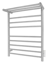 Elevate Huron08 Towel Warmer, Brushed, Hardwired, 8 bars - FloorLife