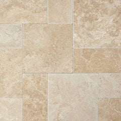 "Travertine Pavers Paredon Creama 6""x6"" - FloorLife"