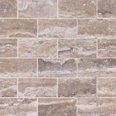 "Pietra Porcelain Tile Collection VENATA GRAY SUBWAY TILE 2""X4"""