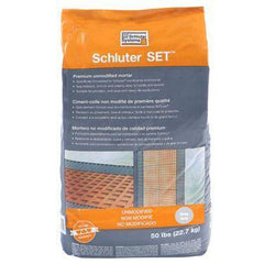 Schluter SET Premium Unmodified Thin-Set Mortar - 50lb - FloorLife