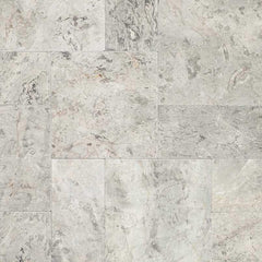 "Marble Pavers Silver Leaf 6""x12"" - FloorLife"