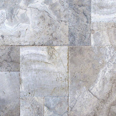 "Travertine Pavers Silver 12""x12"" - FloorLife"