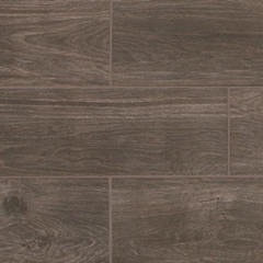 "Daltile Willow Bend Smoky Brown 6""x36"""