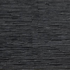 "Realstone Systems Thinstone Midnight Sky Shadow Natural Panel 6""x24"""