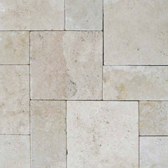 "Travertine Pavers Tuscany Beige 24""x24"" - Thickness 2"" - FloorLife"