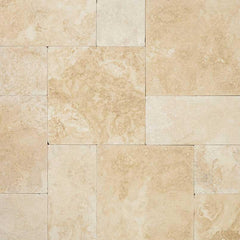 "Travertine Pavers Tuscany Ivory 16""x24"" - FloorLife"