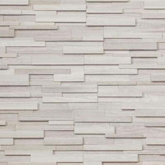 "Realstone Systems Collection White Birch Honed Panel 6""x24"""