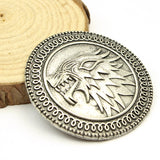Game Of Thrones Brooch House Stark