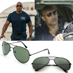 Dwayne 'The Rock' Johnson Aviator Sunglasses