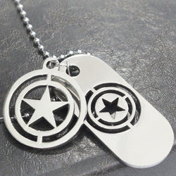 Dog Tags Captain America