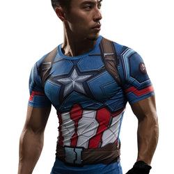 Captain America Civil War T-shirt - WoodenNation