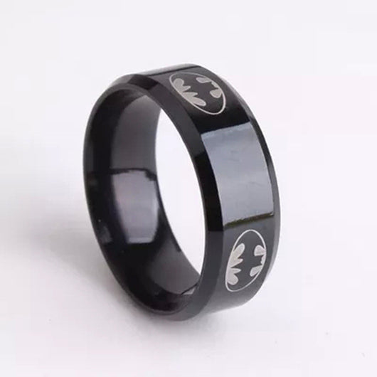 Batman Titanium Ring - WoodenNation