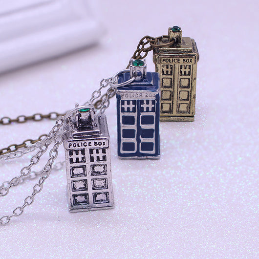 Doctor Who Police Box Pendant