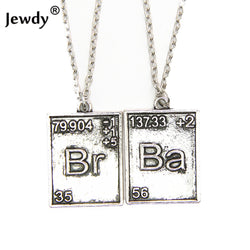 Breaking Bad Tabel Necklace - WoodenNation