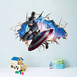 Captain America Wall Sticker - WoodenNation