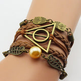 Deathly Hallows Snitch Wings Bracelet