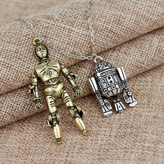 Star Wars R2D2 and/or C-3PO Neckalce