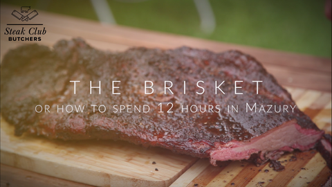 How to smoke a brisket in Mazury