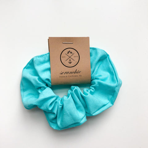 Scrunchie - Tiffany blue