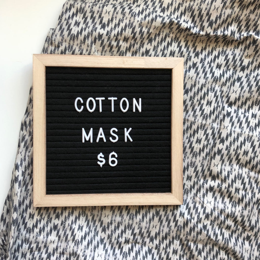 Cotton mask - NC print