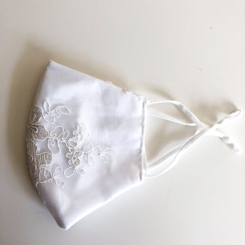 Bridal collection cotton mask