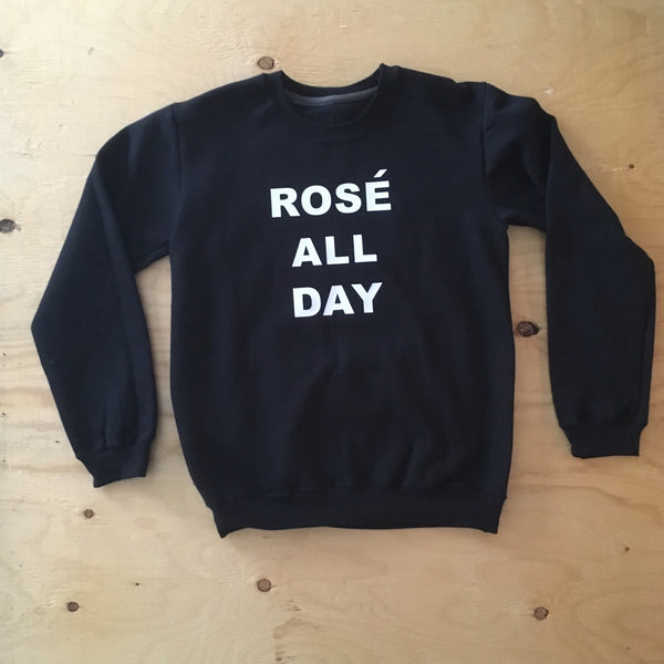 Rosé All Day - Crewneck Sweater