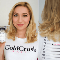 GOLDCRUSH HAIR VITAMINS | 1 MONTH SUPPLY - GoldCrush