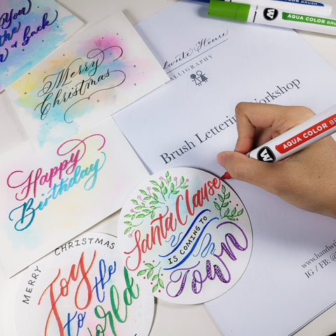 Brush Lettering Workshop - Handwrite House x Molotow HK 西洋書法班