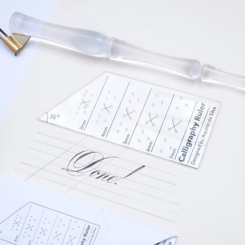Calligraphy Ruler
