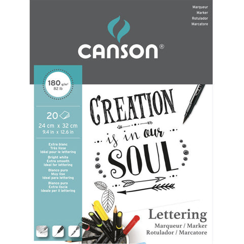 Canson Lettering Pad - Marker