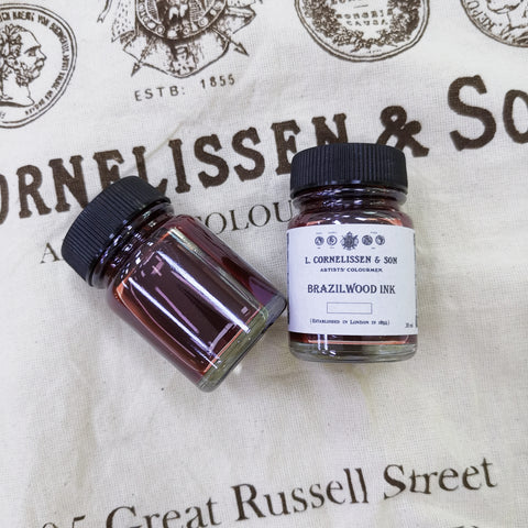 Cornelissen Handmade Historic Recipe - Brazilwood Ink