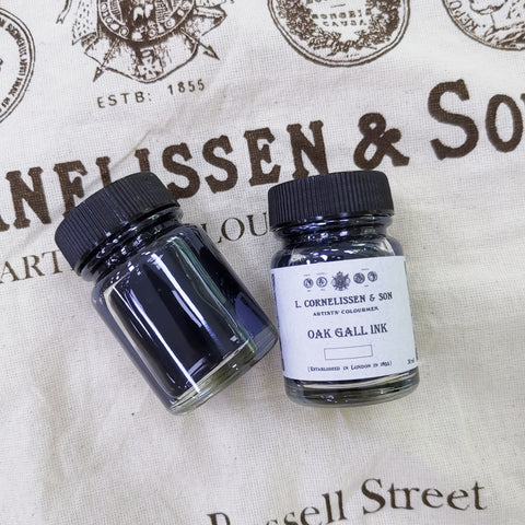 Cornelissen Handmade Historic Recipe - Oak Gall Ink