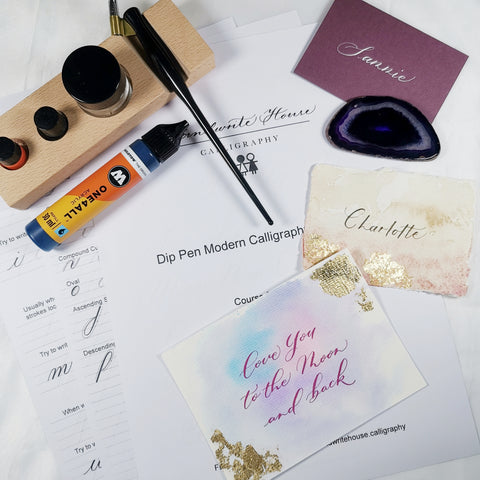 Dip Pen Modern Calligraphy Workshop