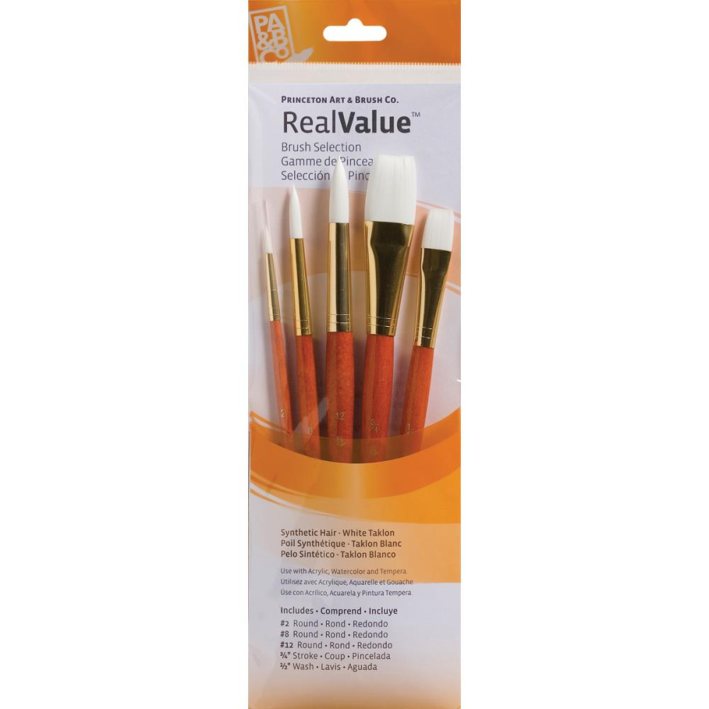 Princeton Synthetic WhiteTaklon Brush Set