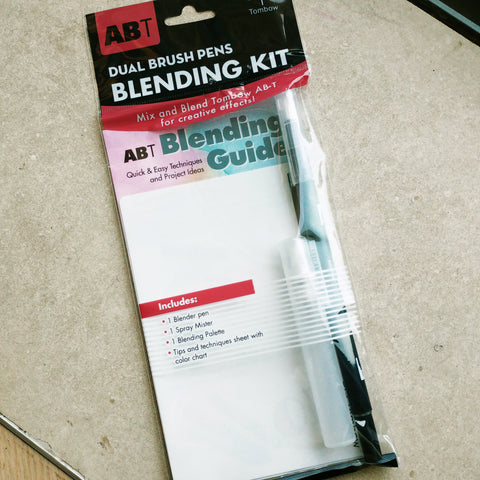 Tombow Dual Brush Pen Blending Kit