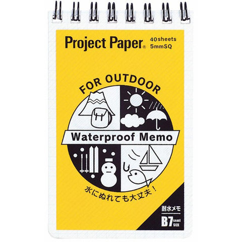 Project Paper Waterproof Memo Pad