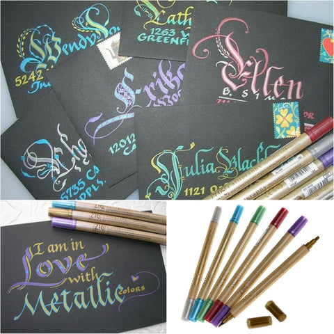 ZIG Calligraphy Metallic