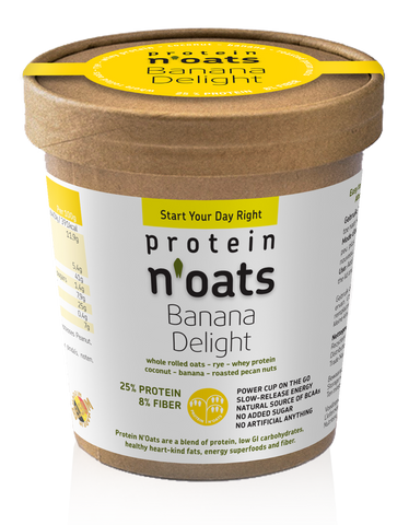 Protein N'Oats Banana Delight