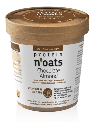 Protein N'Oats Chocolate Almond