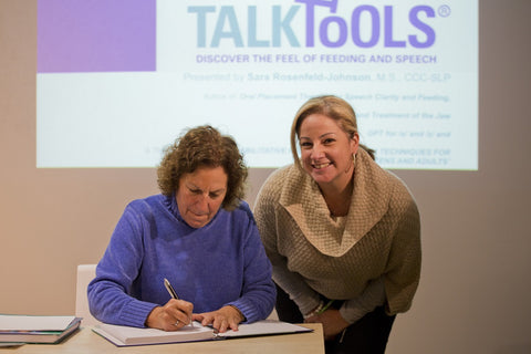 TalkTools | book signing