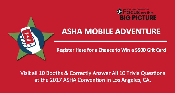 TalkTools | ASHA 2017 Mobile Adventure