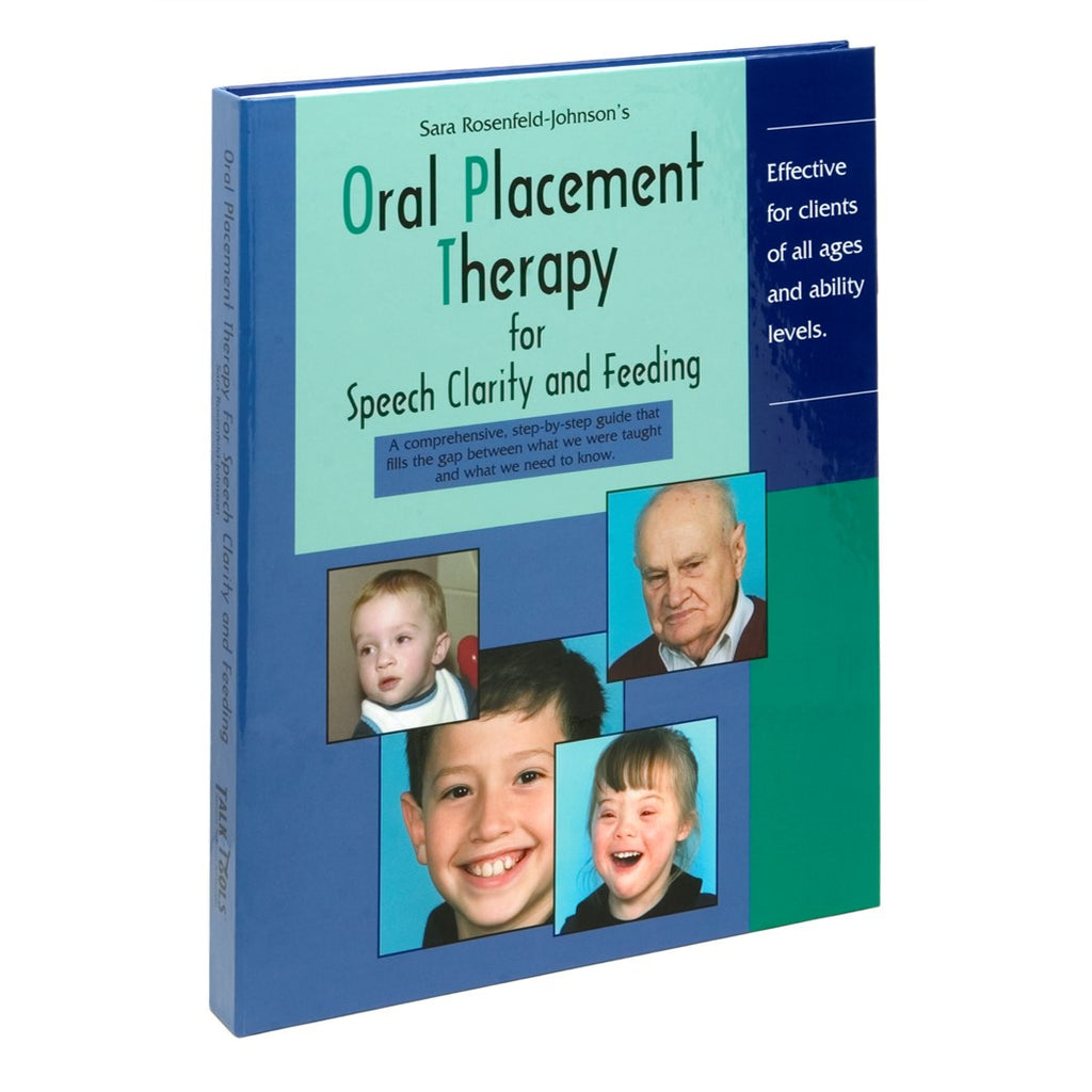 Oral Placement Therapy with Homework Book -  Talk-Tools