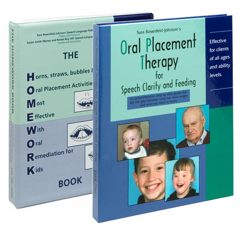Oral Placement Therapy with Homework Book
