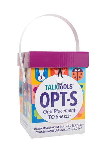 Oral Placement to Speech Kit (OPT-S) Articulation Card Set
