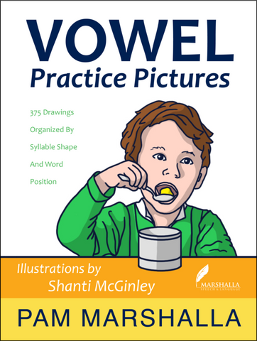Vowel Practice Pictures -  Talk-Tools