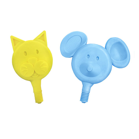 Hard Cat-n-Mouse Tip Combo (Yellow & Blue) - 2 Pack